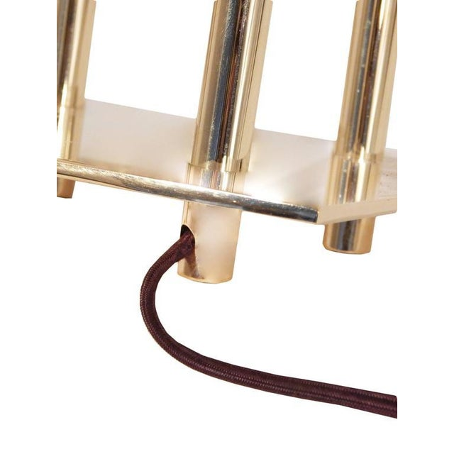 Pair of Stiffel Parzinger Style Lamps - Image 7 of 10