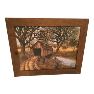 Covered Bridge Print For Sale