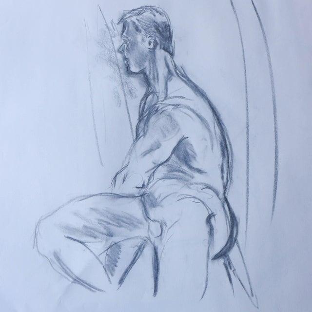 Paul Nude Model Drawing - Image 1 of 3