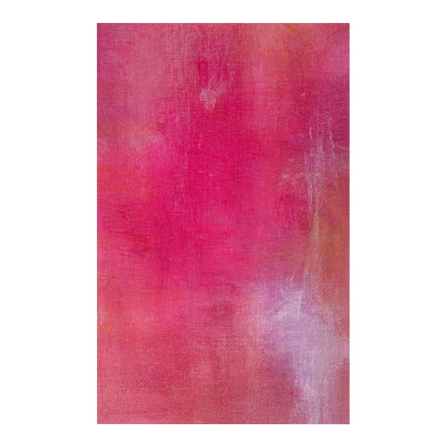 Pink Lemonade Original Modern Abstract Painting - Image 3 of 5