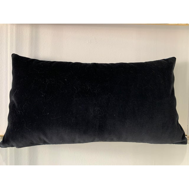 Modern Scalamandre Blue Le Tigre Pillow For Sale - Image 3 of 4