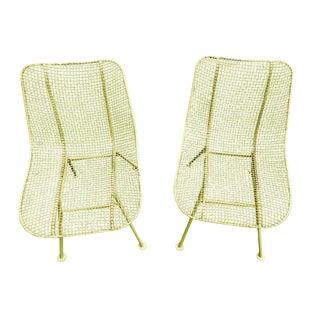 Russell Woodard Sculptura Side Chairs - a Pair
