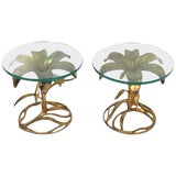 Image of Mid Century Arthur Court End Tables - a Pair For Sale