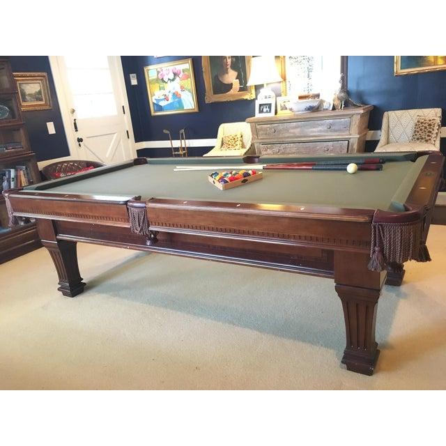 Brunswick Kendrick Pool Table Chairish - Pool table raleigh