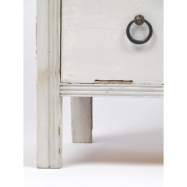 19th Century French Painted Filing Cabinet - Image 9 of 9