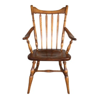 Cushman Colonial Creations Fairfield Model 5921 Arm Chair For Sale