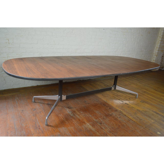 Charles & Ray Eames for Herman Miller Aluminum Group Mid Century Modern Conference Table For Sale - Image 6 of 9