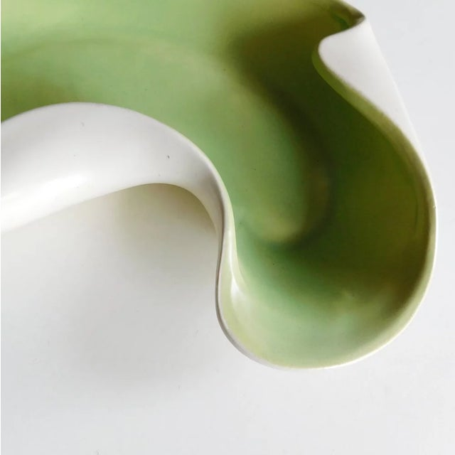 Postmodern 1950s Redwing Moss Sculptural Accent Dish For Sale - Image 3 of 7