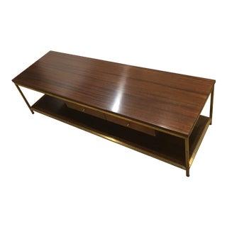 Paul McCobb Irwin Collection Brass Coffee Table
