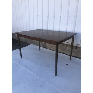 Mid Century Modern Walnut Dining Table by Stanley Furniture Preview