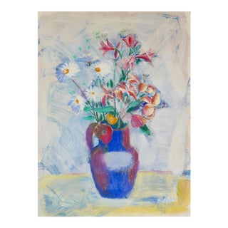 Impressionist French Bouquet Contemporary Painting For Sale