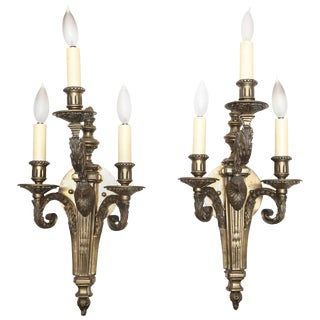 Russian Empire Style Sconces - a Pair For Sale