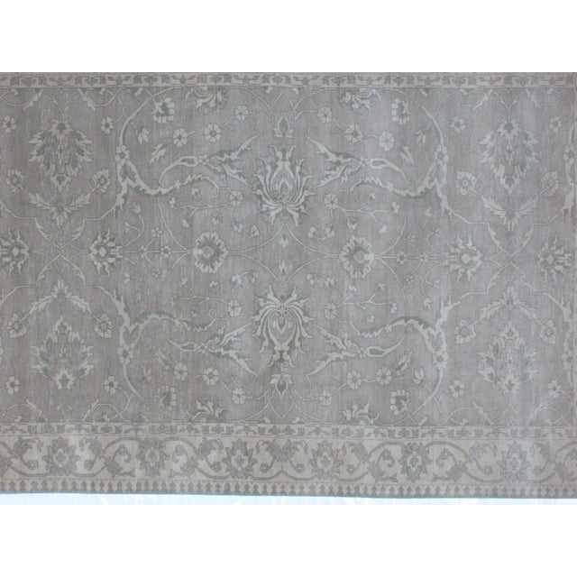Persian Persian Leon Banilivi Genuine Agra Carpet - 6' X 8'10 For Sale - Image 3 of 6
