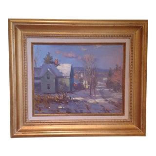 John C. Traynor, Farm House Painting For Sale