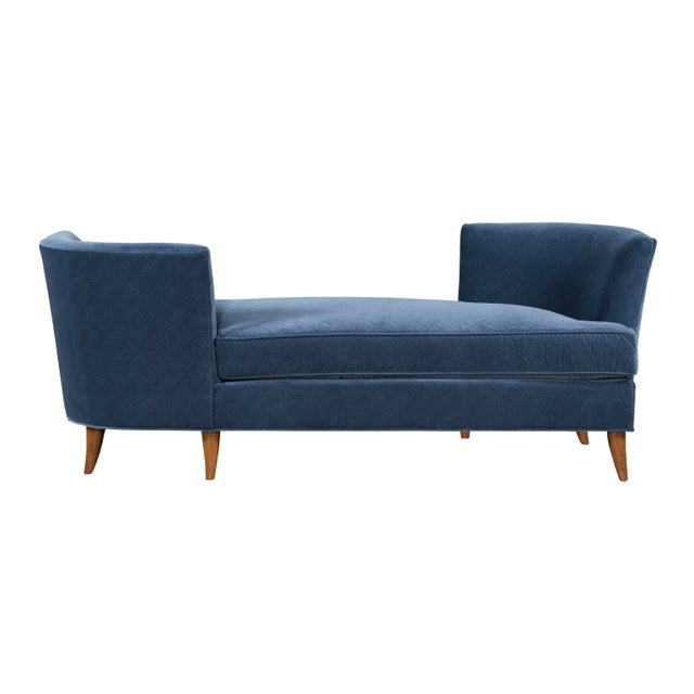 Kristin Drohan Collection Lynae Tete a Tete Navy Blue Daybed - Image 1 of 2