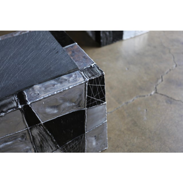 "Paul Evans ""Argente"" Cube Side Tables For Sale - Image 11 of 13"