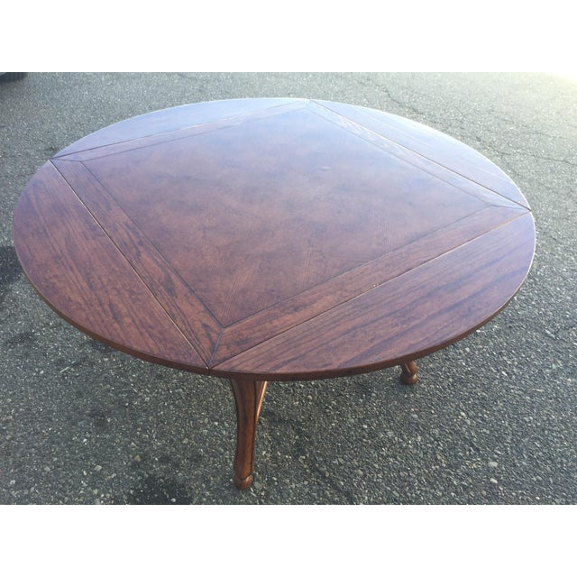 2000 - 2009 Dining Table With Leaves For Sale - Image 5 of 11
