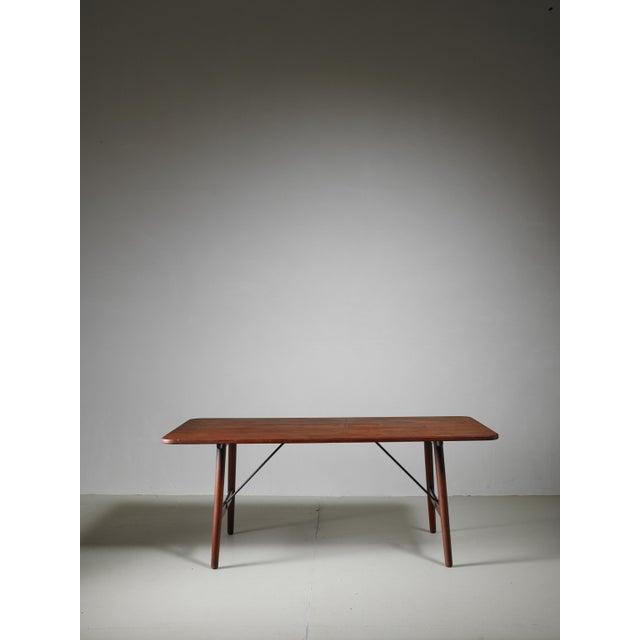 Soborg Mobelfabrik Børge Mogensen Early Hunting Table for Søborg, Denmark, circa 1950 For Sale - Image 4 of 9