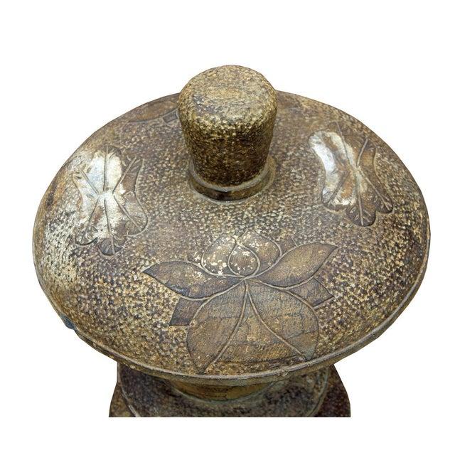 Chinese Stone Garden Lantern - Image 3 of 6
