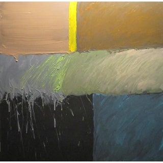 Contemporary Abstract Expressionist Painting by Stan Edwards For Sale