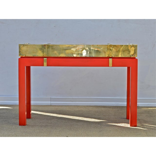 Brass Campaign Style Console - Image 3 of 11
