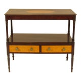 Image of 19th Century Early American Federal Serving Table For Sale