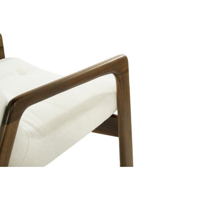 Sculptural Walnut Lounge Chairs by Adrian Pearsall for Craft Associates - a Pair For Sale - Image 11 of 13