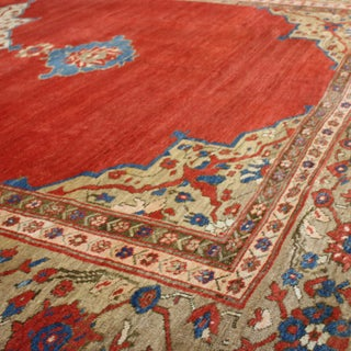 """Antique Sultanabad Red and Blue Wool Rug-12'x15"""" Preview"""
