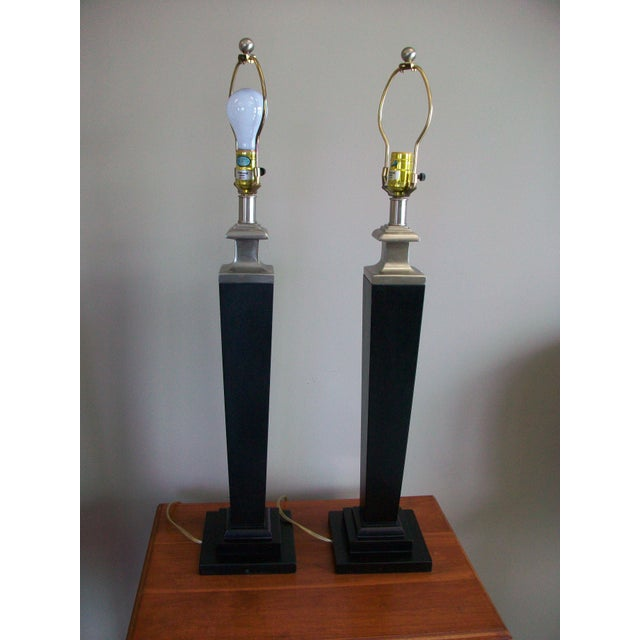 Tyndale Contemporary Lamps - a Pair - Image 3 of 6