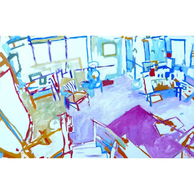 The Artist's Studio (Oil Painting) For Sale
