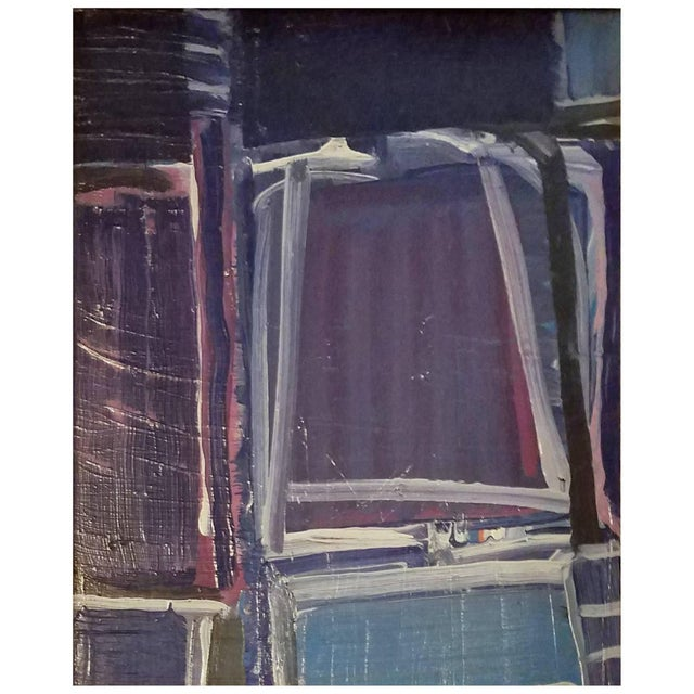 20th Century Abstract Still Life Painting by Daniel Clesse For Sale - Image 4 of 4