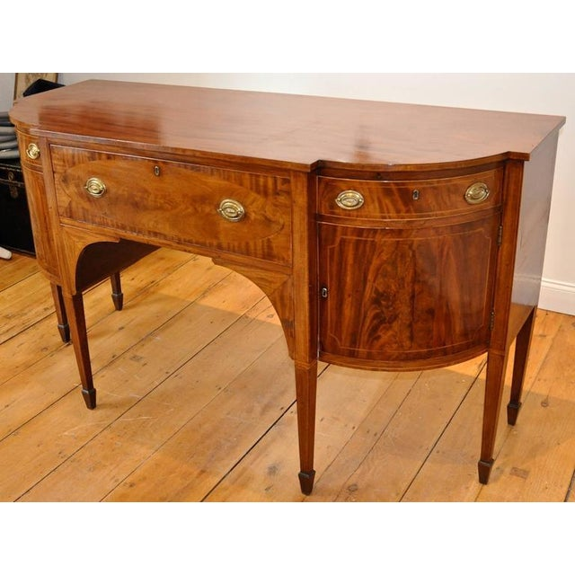 Federal Early 19th Century American Federal Mahogany Sideboard For Sale - Image 3 of 4