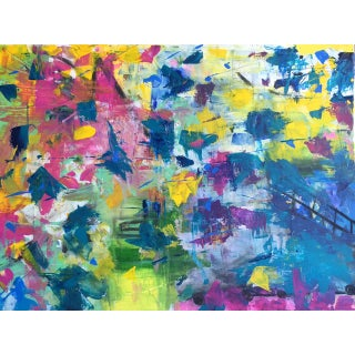 """Shawn Phalen """"Sunshine"""" Contemporary Painting For Sale"""