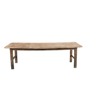 Long French Farm Table For Sale