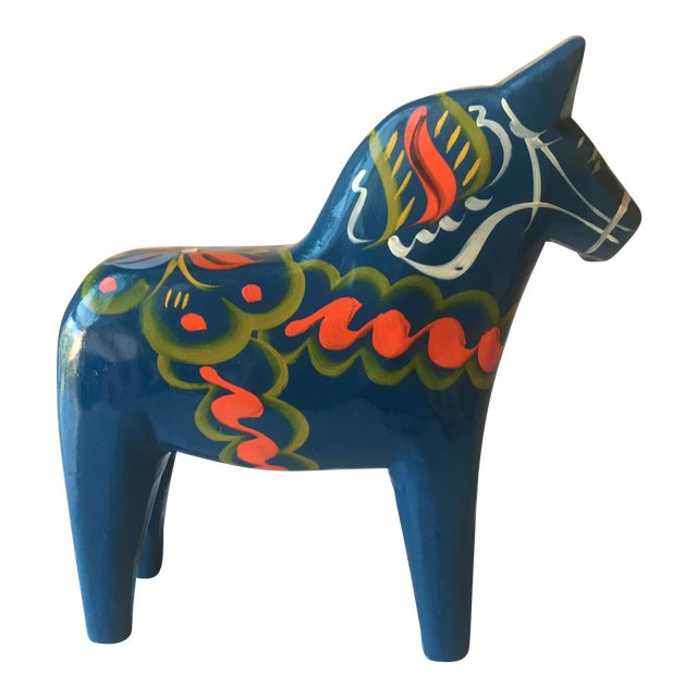 Vintage Nils Olsson Swedish Dala Horse For Sale