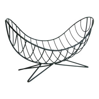 "1950s Ferris-Shacknove B-3 ""Twin Scoop"" Wire Fruit Basket For Sale"