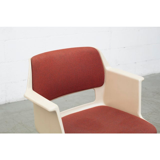 1970s A.R. Cordemeijer Gispen Chair - Image 7 of 10