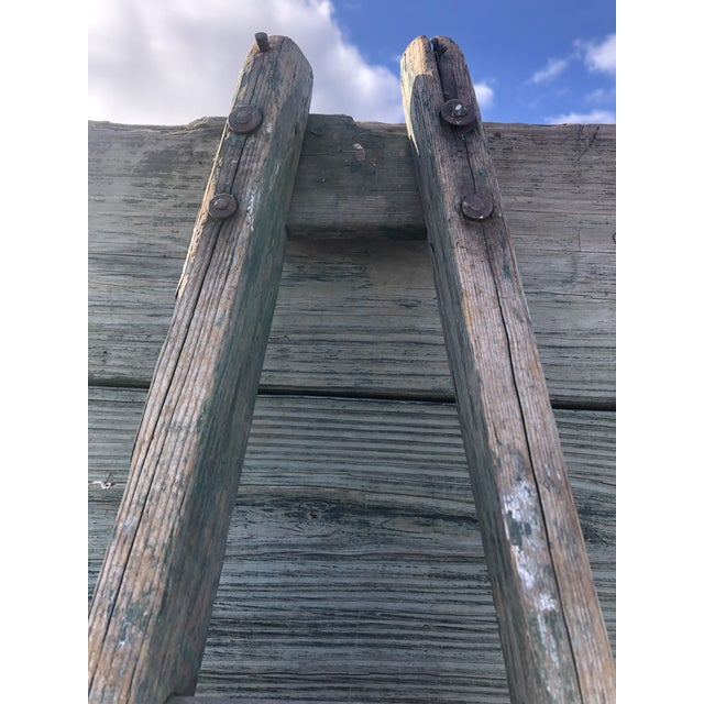 Authentic American Country Apple Ladder For Sale - Image 4 of 8