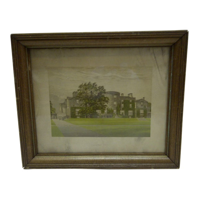 "Vintage Print ""Galloway House"", 1930 For Sale"