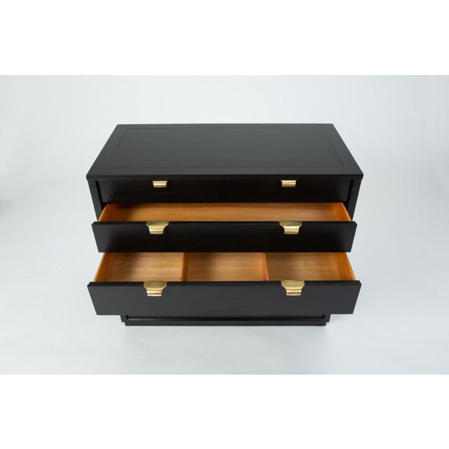 Ebonized Chest of Drawers From Edward Wormley's Precedent Collection for Drexel For Sale - Image 10 of 13
