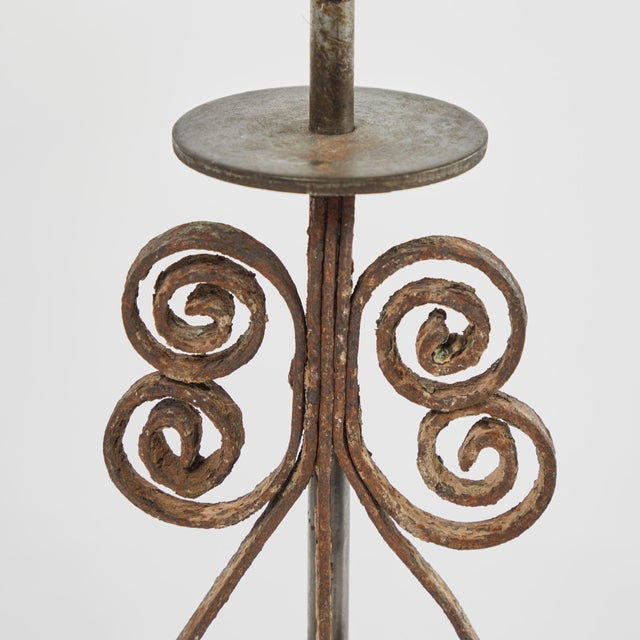 19th Century Victorian Iron Lamps For Sale In Los Angeles - Image 6 of 9