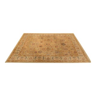 Capel Burma Silk Butterscotch Rug - 8′6″ × 10′11″ For Sale