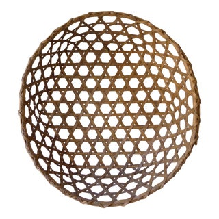 Vintage Hexagon Cheese Basket For Sale