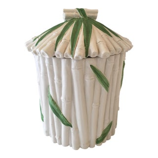Italian Bamboo-Style Canister