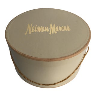Vintage Neiman Marcus Hat Box For Sale