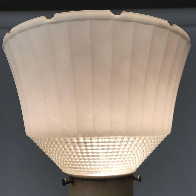 Hollywood Regency 1950s Regency Torchiere Lamp in the Manner of James Mont For Sale - Image 3 of 6