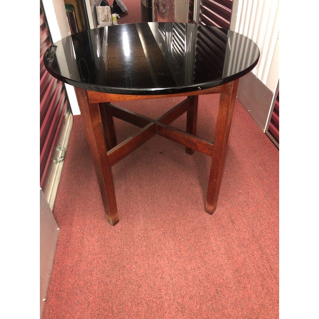 Art Nouveau Snug Seat Soda Fountain Chairs & Table - 5 Pieces For Sale - Image 3 of 13