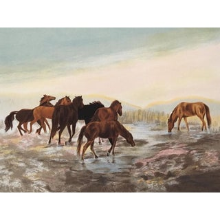 Lithograph by Gwendolyn Branstetter (Hc - Signed and Numbered) For Sale