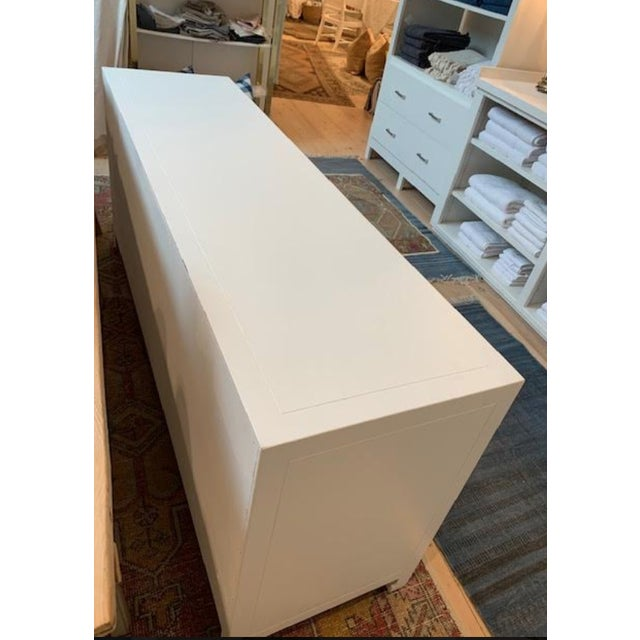 1950s Mid-Century Modern 1960s Henredon Ming Console For Sale - Image 5 of 13