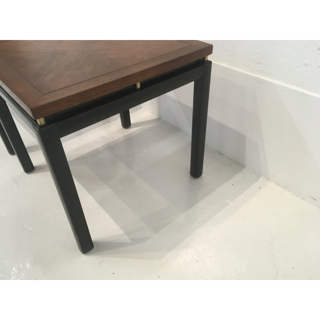 Michael Taylor/ Baker Funiture Side Tables - a Pair For Sale In Atlanta - Image 6 of 10